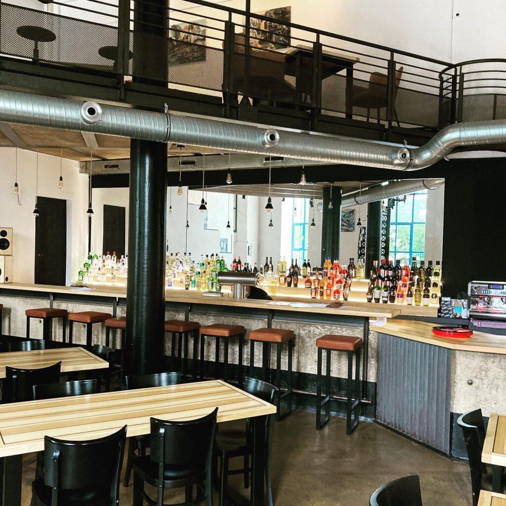 Restaurant Lugger von innen im Kulturzentrum Schlachthof in Bremen